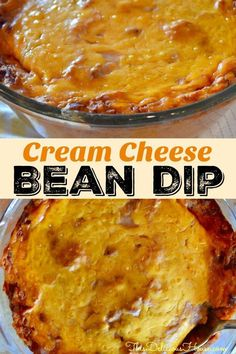 Delicious and easy party food! Don't miss this recipe for Cream Cheese Bean Dip . - Delicious and easy party food! Don't miss this recipe for Cream Cheese Bean Dip that is great for - Cream Cheese Bean Dip, Cream Cheese Recipes, Cream Cheeses, Appetizers For Party, Appetizer Recipes, Mexican Appetizers Easy, Party Dips, Appetizer Dips, Brunch Recipes