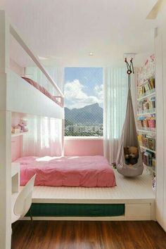 Cute Bedroom Ideas, Girl Bedroom Designs, Girls Bedroom, Bedroom Design For Teen Girls, Teen Bedrooms, Room Design Bedroom, Dream Rooms, Dream Bedroom, Master Bedroom