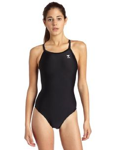 b6acd80189 TYR Sport Women s Solid Diamondback Swimsuit Nylon