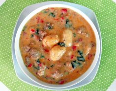Gnocchi, sausage and spinach soup from best soup recipes 2011 @http://www.cinnamonspiceandeverythingnice.com