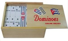 Cuban Flag Double Nines Dominoes Set... for only $14.99