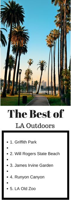 Things to do in LA | LA Attractions | The Best Los Angeles Outdoor Attractions | Explore Los Angeles