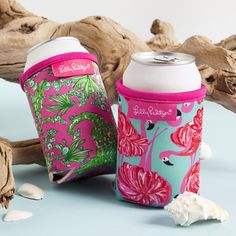 Lilly Pulitzer Beverage Hugger - Gimme Some Leg