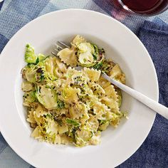 #FastIdea of the Day: Brussels Sprouts Pasta