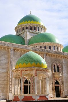 President`s Mosque, Aleppo, Syria by john a d willis
