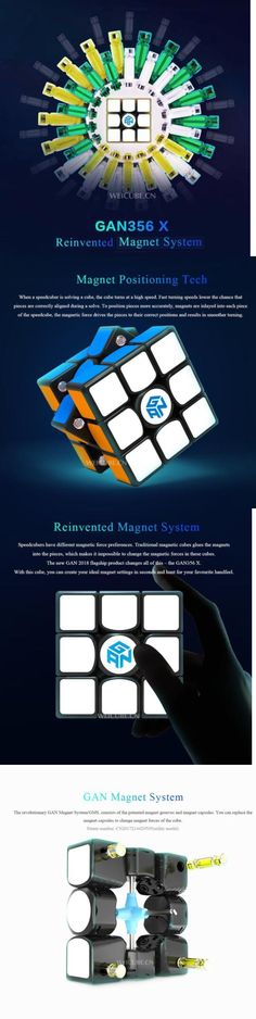 Tool Organizers Generous New Original Gan356 X 3x3x3 Magnet Gans 3x3x3 Ipg V5 Numerical Ipg Professional Gan 356 X 3x3 Magic Speed Cube Educational Toys