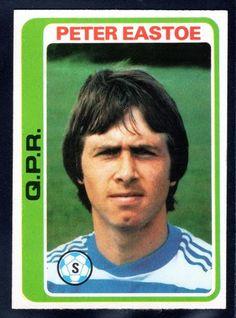 TOPPS FOOTBALLERS-PALE BLUE-1979-PETER EASTOE-QUEENS PARK RANGERS No.253