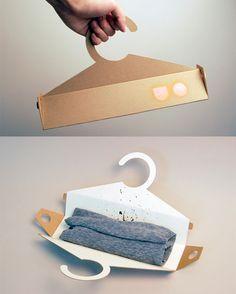 Hanger pack T-shirt Packaging PD