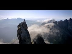 'The Ridge', A Riding Film Where Danny MacAskill Mountain Bikes Down the Treacherous Cuillin Ridgeline in Scotland