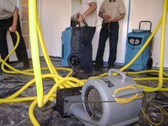 Using good equipment for water restoration