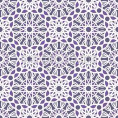 Geometric Arabic Mosaic Vector Ornament by Roman Volkov at patterndesigns.com Vector Pattern, Pattern Design, Oriental Fashion, Surface Design, Geometry, Your Design, Roman, Mosaic, Mandala