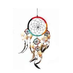 Dream Catcher Helps in Getting Good Dreams And Protect From Bad Dreams.The dream catcher Should Hang above a sleeping area in a place where the morning light can hit it.Get Exclusive Range And Lots Of Variety Of Dream Catcher On Buy Dream Catcher, Feather Dream Catcher, Beautiful Dream Catchers, Crystal Healing Stones, Morning Light, Bad Dreams, Pure Products, Wall, Handmade