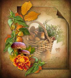 Podzimní obrázky | Tvoření Christmas Gifts, Fall, Cards, Painting, Decor, Gift Ideas, Posters, Holiday Gifts, Autumn