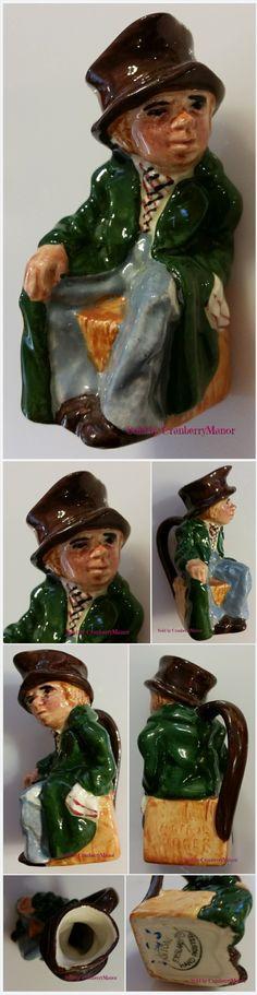 Artful #Dodger Charles #Dickens Oliver Twist Toby Jug by#Artone #England #Vintage #Designer English #Gift #FREE Ship #ArtfulDodger #CharlesDickens #OliverTwist http://cranberry-manor.com/artful-dodger-charles-dickens-oliver-twist-toby-jug-by-artone-england-vintage-designer-english-gift/