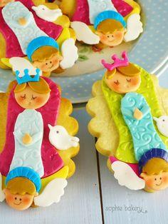 Galletas Virgencita Plis. Virgencita Plis Decorated Cookies
