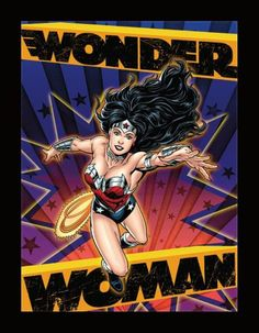 DC Comics 3D Art: Wonder Woman Matte Black