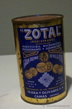 BOTE PRECINTADO MEDIO KG. INSECTICIDA ZOTAL AÑOS 80 Old Advertisements, Advertising, Best Memories, Good Old, Nostalgia, Old Things, Childhood Memories, Past, Retro Ads
