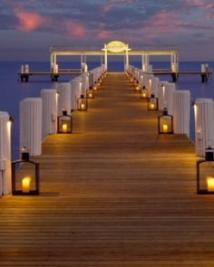 The breezy pier extends over 500 feet into the ocean for stunning views. #Jetsetter,   Hotel Cheeca Lodge and Spa, Islamorada, Florida, USA, What a sunset