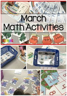 St. Patrick Math Activities - Sharing Kindergarten