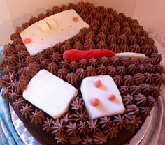 Handyman's Celebration Cake from the Lucy's Sweet Treats Online Store