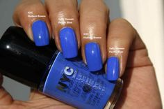Sally Hansen Hard as Nails Xtreme Wear 420 Pacific Blue DUPE NYC Expert Last Nail Polish 269 Hudson Breeze
