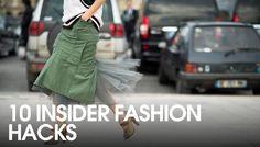 10 insider fashion hacks