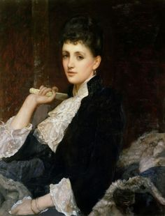 Sir William Blake Richmond (1842–1921), Countess of Airlie