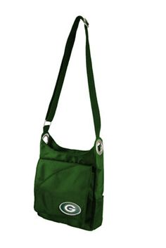 Green Bay Packers Grommet Cross Body Purse