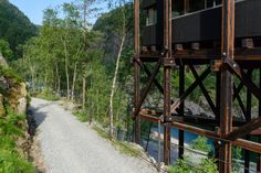The Allmannajuvet zinc mines are a disused mining works in Sauda. The mines were in operation from 1881 to 1899. During these years a total of 12,000 tonnes of zinc ore were extracted. Today, the mining area is a museum. The plain buildings in the gorg...