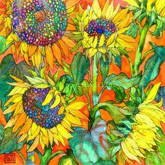 Sunflowersg. Sofia Perina Miller                                                                                                                                                                                 More