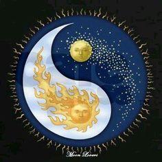 Sun & Moon Art