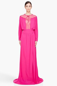 DSQUARED2 //  FUCHSIA STATEMENT DRESS  $1095.00 USD