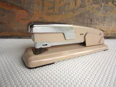 Vintage Arrow 210 Stapler Retro Home Office by corrnucopia on Etsy