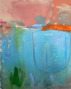 Jane Booth, Just Under the Surface, 64x52.