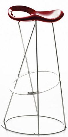 Pop art design bar stool THE STONES by Marco Maran