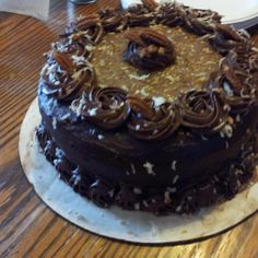 Daddy's Birthday Cake - German Chocolate Cake