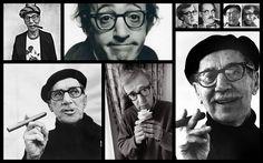 Groucho Marx y Woody Allen. Ídolos, aquellos seres terrenales