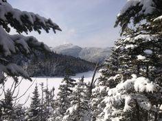 Sterling Pond, Vermont. Winter arrives.  Photo by Hugh Johnson