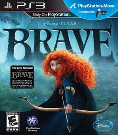 Brave - - In Disney Pixar Brave: The Video Game, challenge destiny and change your fate! Brave: The Video Game is a Third-Person Action-Adventure game that is a companion release to the Playstation, Xbox 360, Will O The Wisp, Kelly Macdonald, New Disney Princesses, Wii Games, Game Sales, Dvd Blu Ray, Beautiful Stories
