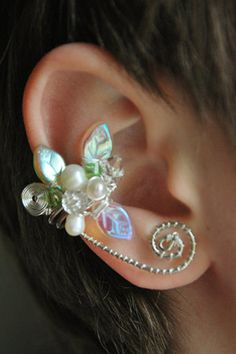 Beaded Ear Cuff