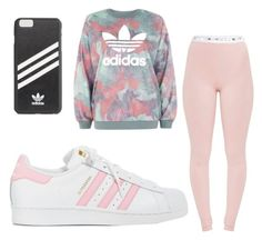 """""""Adidas"""" by alysha2000 ❤ liked on Polyvore featuring adidas"""