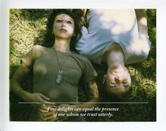 """""""Few delights can equal the presence of one whom we trust utterly."""" April 27, 2010 by Parker Fitzgerald, via Flickr"""