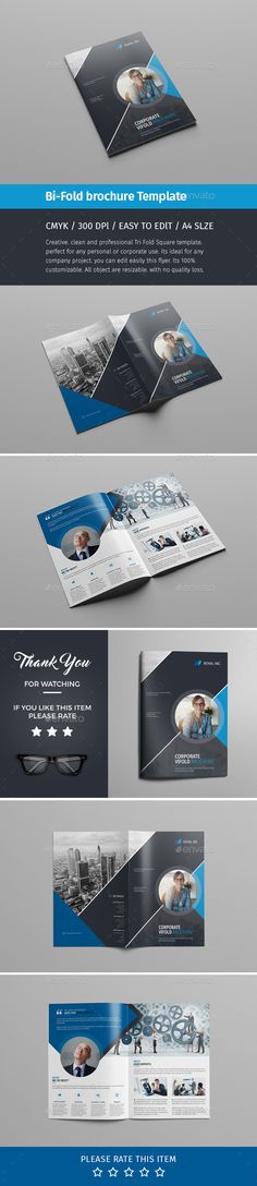 Corporate Bi-fold Multipurpose Brochure  PSD Template • Only available here ➝ http://graphicriver.net/item/-corporate-bifold-brochuremultipurpose-05/16722994?ref=pxcr