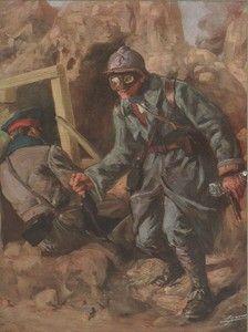 nettoyeur de tranchée - France 1916