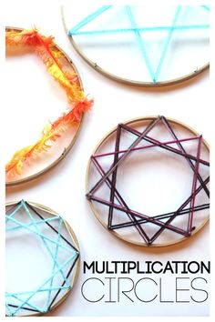 Multiplication Circles A Simple DIY idea for teaching Multiplication facts | Perfect for a center or independent game