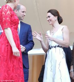 Prince William, Duke of Cambridge and Catherine, Duchess of Cambridge attend the Queen's Birthday Garden Party at the Orangery, Lazienki Park on day 1 of their official visit to Poland on July 17, 2017 in Warsaw, Poland.