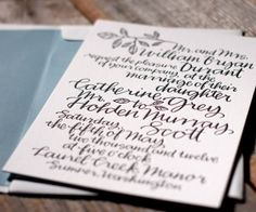 large and fun calligraphy where the text becomes the art (Balsam Calligraphy Design | Bella Figura Letterpress)