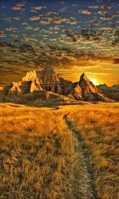 Badlands, South Dakota, U.S..