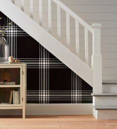 Hallway Wallpaper Remodel Collection - Hearth & Hand™ With Magnolia : Target Hand Wallpaper, Hallway Wallpaper, Bathroom Wallpaper, Trendy Wallpaper, Target Wallpaper, Accent Wallpaper, White Wallpaper, Pattern Wallpaper, Farmhouse Style