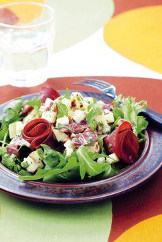 Salaatti lappilaisittain | K-ruoka Cobb Salad, Salad Recipes, Salads, Food Porn, Food And Drink, Healthy, Salad, Lettuce, Treats
